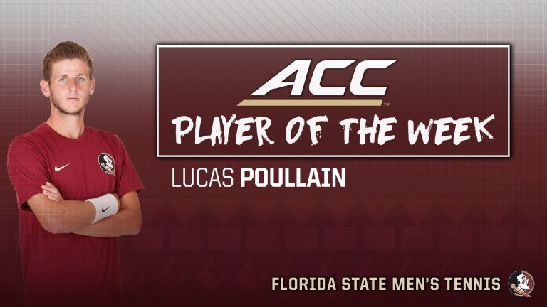 Poullain Earns ACC Co-Player of the Week Honors