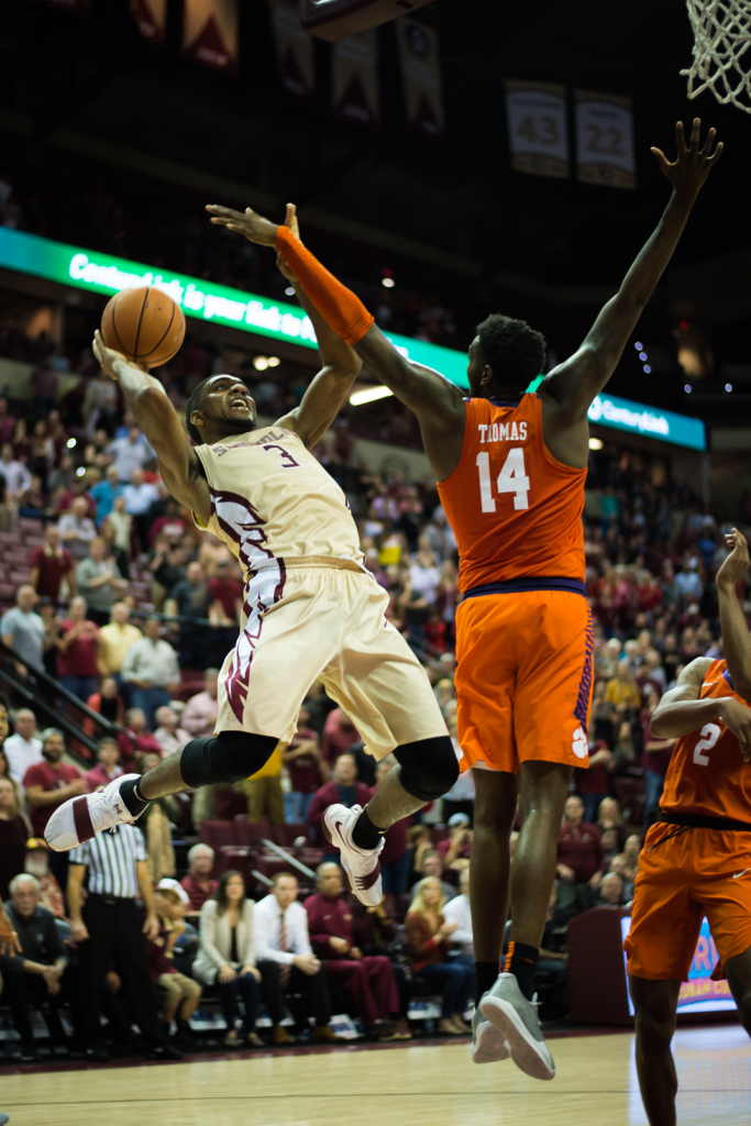 Men's Basketball vs. Clemson Photo Gallery