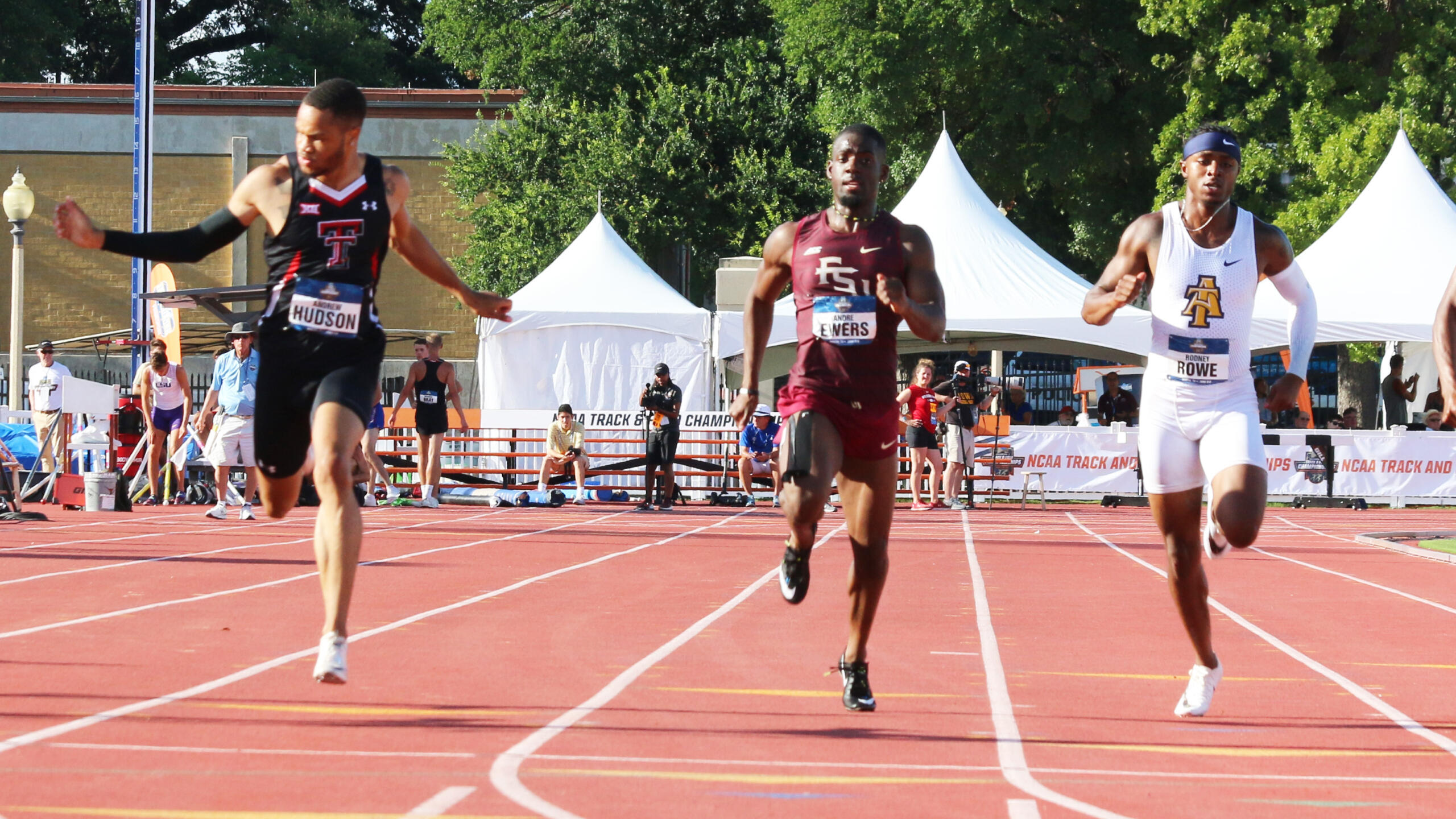 Record-Setting Relay, Rincher's 100 Lead Day 1