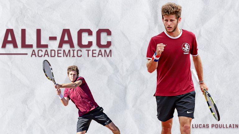 Men's Tennis Places Two on the All-ACC Academic Team