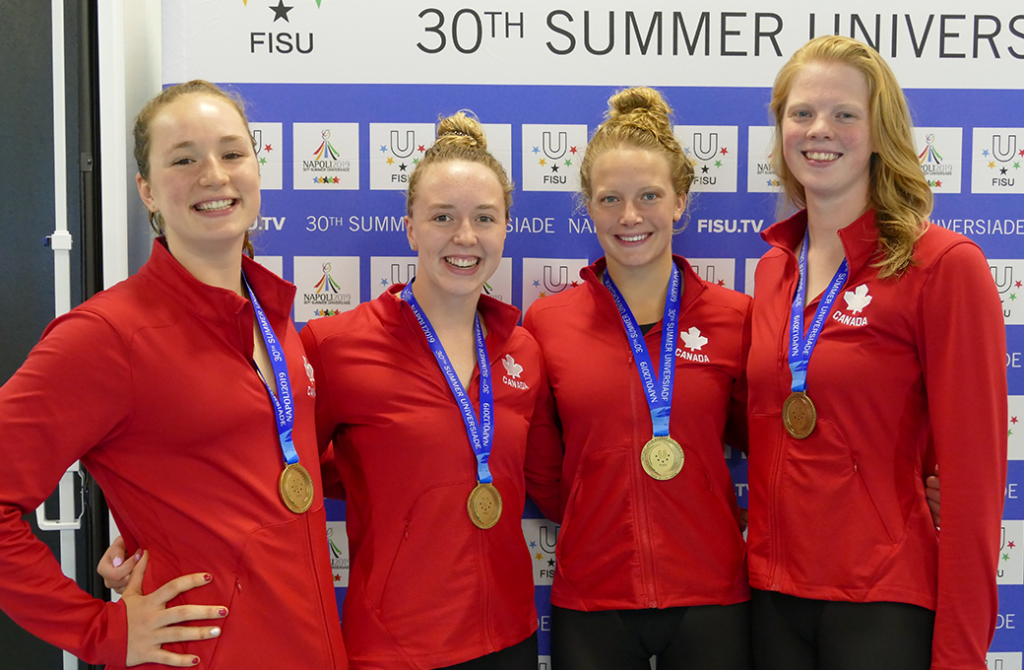 Team Canada with the Bronze