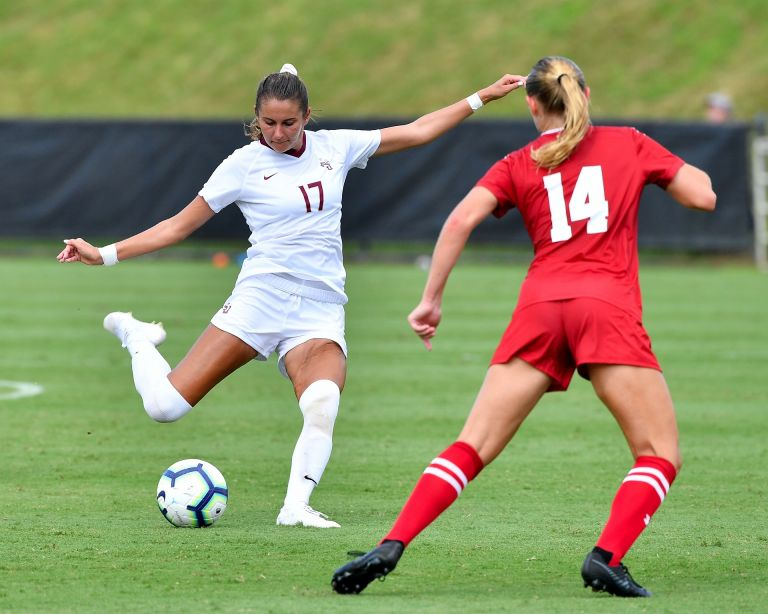 Soccer Improves To 2-0 After OT Win Over Badgers