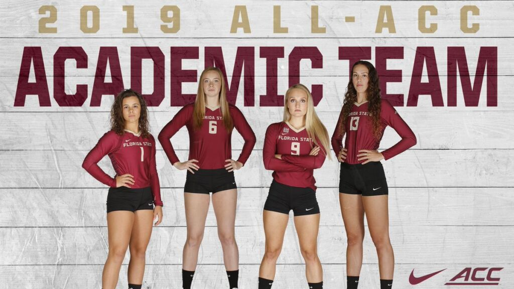 Taryn Knuth Named ACC Scholar-Athlete Of The Year As Four Noles Named To All-ACC Academic Team