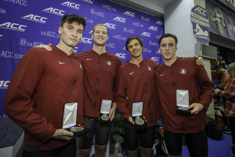 The 400 free relay