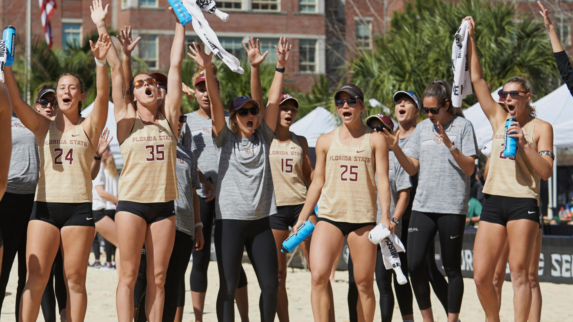 Beach Volleyball Wins Director's Cup for Service