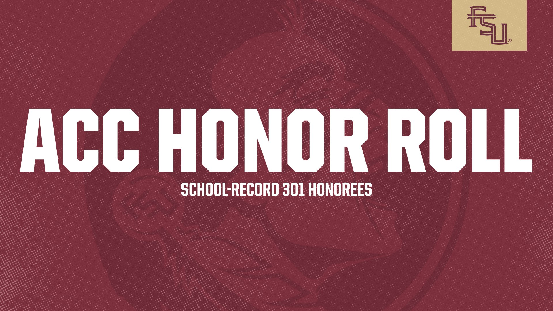 Record 301 Seminoles Named To ACC Academic Honor Roll