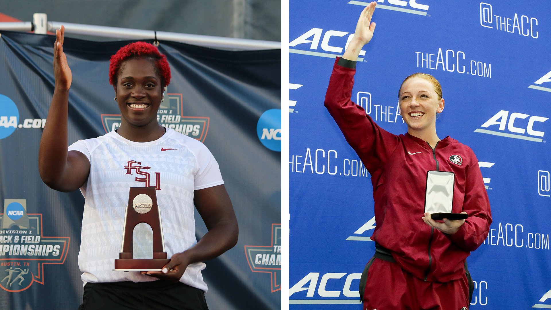 Carlson, Love Earn NCAA Woman of the Year Nominations