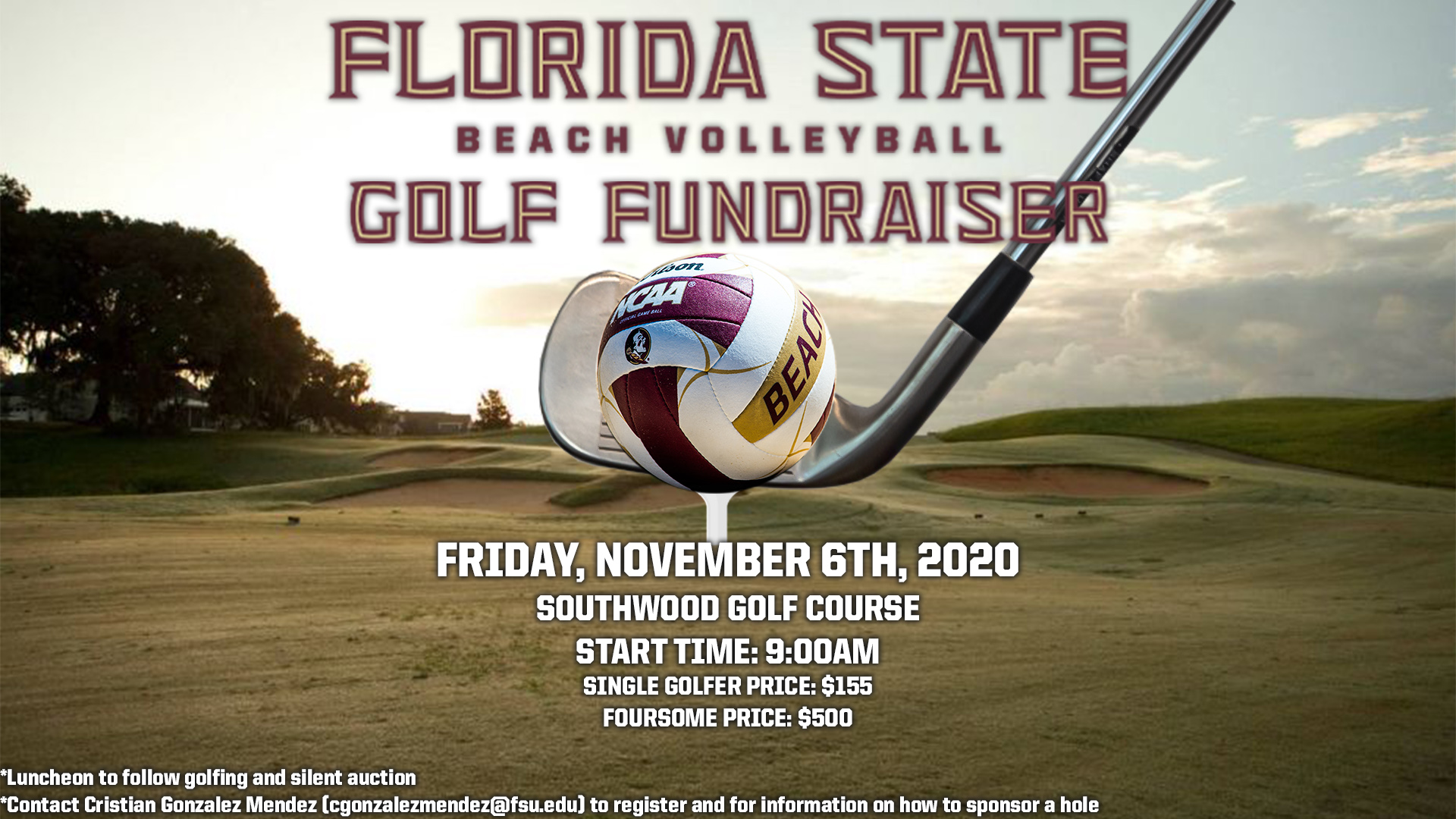 Beach Volleyball Golf Fundraiser