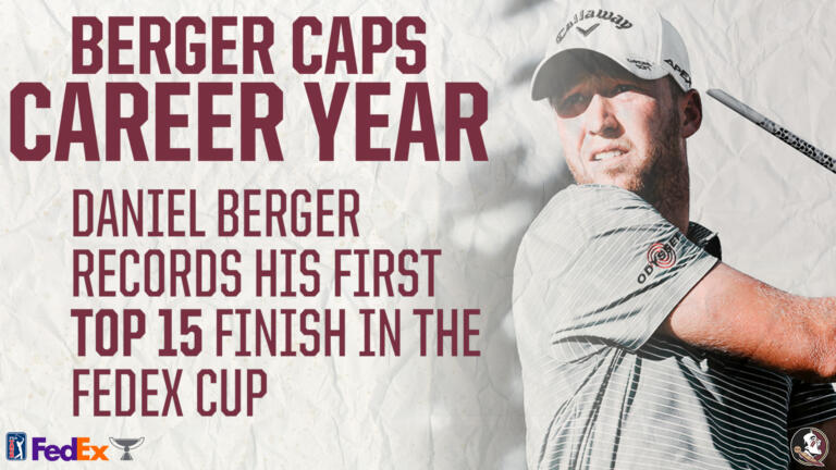 Berger Caps Career Year at FedEx Cup