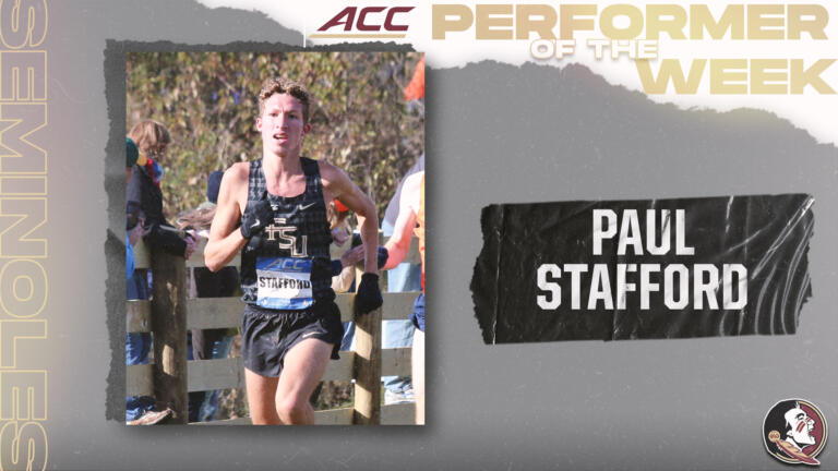 Stafford Named ACC Performer of the Week