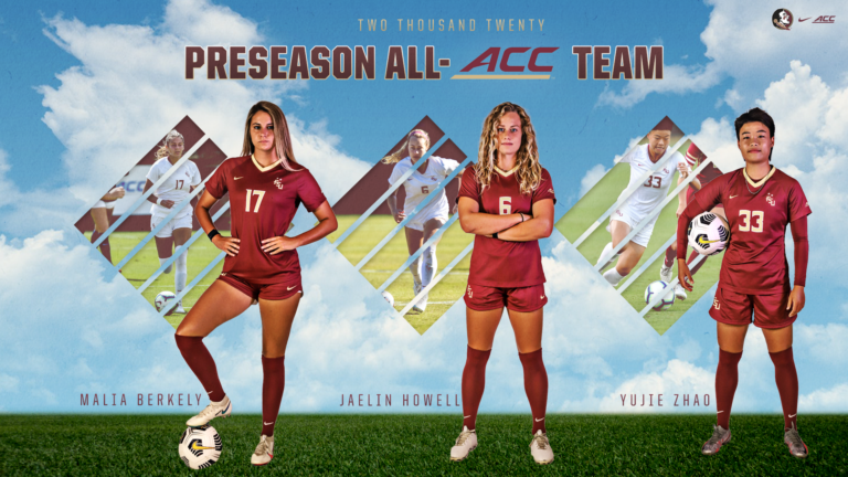 Soccer Picked to Finish Second in ACC; Place Three on All-ACC Preseason Team