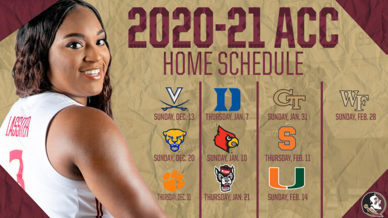Women's Basketball Announces 2020-21 ACC Schedule