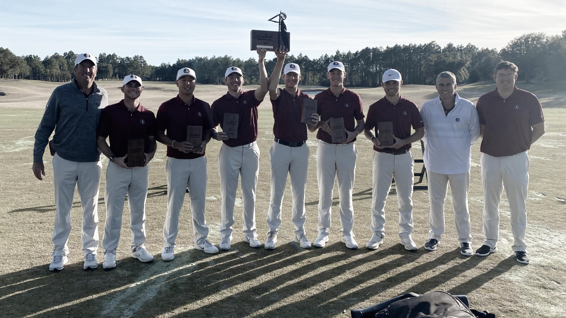 Men's Golf Wins at Camp Creek in Playoff